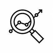 Analysis Icon Isolated On White Background. Analysis Icon In Trendy Design Style. Analysis Vector Ic poster
