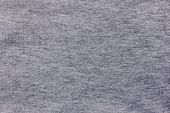 Grey Cloth Pattern Simple Woven Texture Background, Horizontal Blank Banner. Empty Cloth Material Of poster
