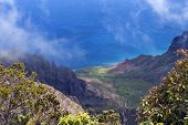 Na Pali Coast From Waimea Canyon