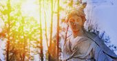 The Goddess Of Love In Greek Mythology, Aphrodite (venus In Roman Mythology) In Sunlight poster
