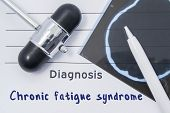 Diagnosis Chronic Fatigue Syndrome. Written Medical Report, Which Indicated Neurological Diagnosis C poster
