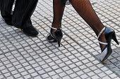 Постер, плакат: Танго обувь