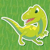 Cute Dinosaur Sticker