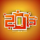 pic of happy new year 2013  - 2013 Happy New Year background - JPG