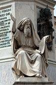 image of prophets  - Prophet Ezechiel statue in Rome Italy - JPG