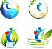 picture of atherosclerosis  - Healthy lifestyle symbol collection - JPG