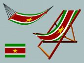 Suriname Hammock And Deck Chair Set