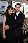 Ron Livingston and Rosemarie DeWitt at