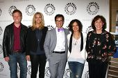 Don Roos, Lisa Kudrow, Dan Bucatinsky, Sara Gilbert and Lily Tomlin at The Paley Center Presents: An