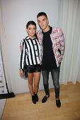 Shenae Grimes and Josh Beech at the 12th Annual InStyle Summer Soiree, Mondrian, West Hollywood, CA