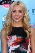 Peyton List at the 2013 Teen Choice Awards Arrivals, Gibson Amphitheatre, Universal City, CA 08-11-1