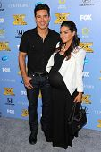 Mario Lopez and Courtney Laine Mazza at the