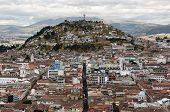 Ecuador, View On The Quito