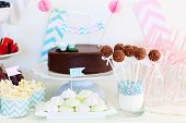 stock photo of cake pop  - Berries - JPG
