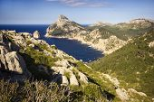 picture of tomas  - Cap de Formentor on Majorca of the Balearic Islands Spain - JPG