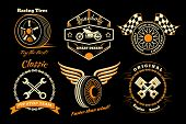 image of car symbol  - Racing badges - JPG