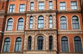 picture of edwardian  - beautiful victorian windows on the exterior of a building - JPG