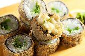 stock photo of scallops  - Japanese Cuisine  - JPG