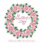 image of rose bud  - Mothers day - JPG