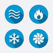 image of hvac  - HVAC icons - JPG