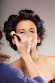 pic of makeover  - Cosmetic beauty procedures and makeover concept - JPG