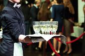 picture of catering  - catering or celebration concept - JPG
