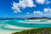 Whitsunday Tropical Island And Hill Inlet Lagoon poster