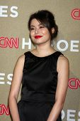 LOS ANGELES - DEC 2:  Miranda Cosgrove arrives to the 2012 CNN Heroes Awards at Shrine Auditorium on