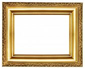 classy golden frame (from my frames collection)