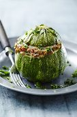 stuffed filled courgette