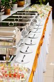 foto of chafing  - catering wedding - JPG