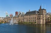 stock photo of prime-minister  - Parliament and court building complex Binnenhof in The Hague The Netherlands - JPG