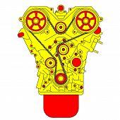 picture of carburetor  - engine - JPG