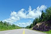 picture of trans  - Trans canada Highway Along Superior Lake Shore - JPG