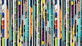 foto of memento  - Stack of old vintage comic books background texture - JPG
