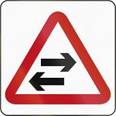 image of traffic rules  - Road sign in Brunei - JPG