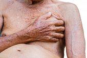 image of breast-stroke  - close - JPG