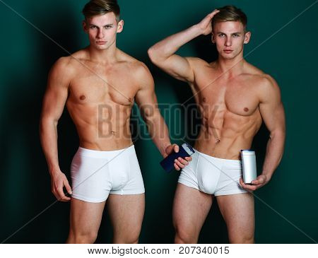 Sports Bodybuilding And Advertisement Concept