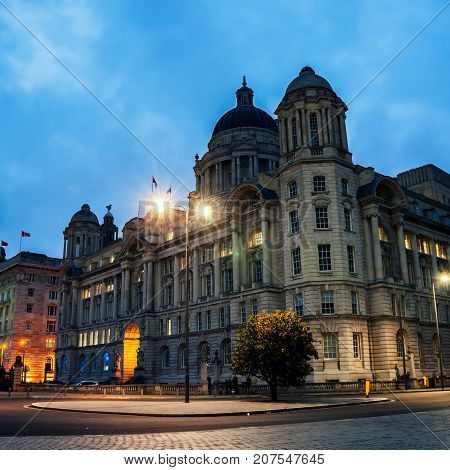 Liverpool England View
