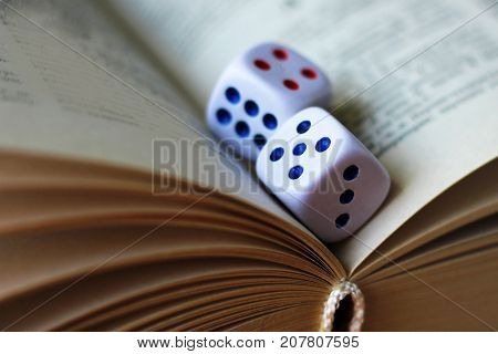 Playing Dice On The Book