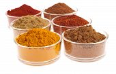 image of garam masala  - collection of indian spices  - JPG