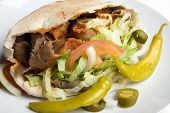 Traditional Donner Kebab