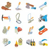 Expedition Icons Set. Isometric Set Of 16 Expedition Vector Icons For Web Isolated On White Backgrou poster
