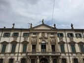 Facade Of Palazzo Orti Manara, In Neoclassical Style (year 1794) Verona, Italy. It Is Known For The  poster