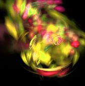 Music Magic Hypnosis Dreaming Dream Hypnotic Wallpaper Abstract Fractal Background. poster