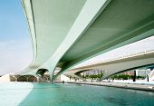 image of skyway bridge  - VALENCIA SPAIN  - JPG