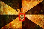 pic of ceuta  - some very old vintage flag of ceuta - JPG