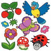 Постер, плакат: Весна время природа коллекция