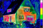 House Thermal Image