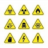 picture of frostbite  - Illustration warning signs of danger - JPG